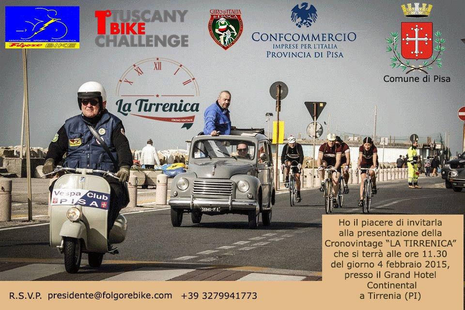 Tuscany Bike Challange - Cronovintage La Tirrenica