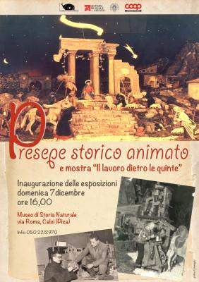 Presepe meccanico Certosa di Calci 2014